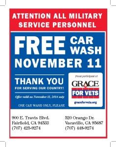 Car wash vet poster 2014
