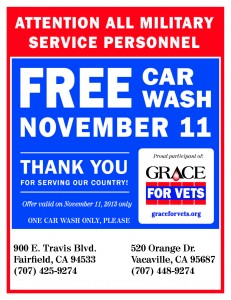 Car wash vet poster