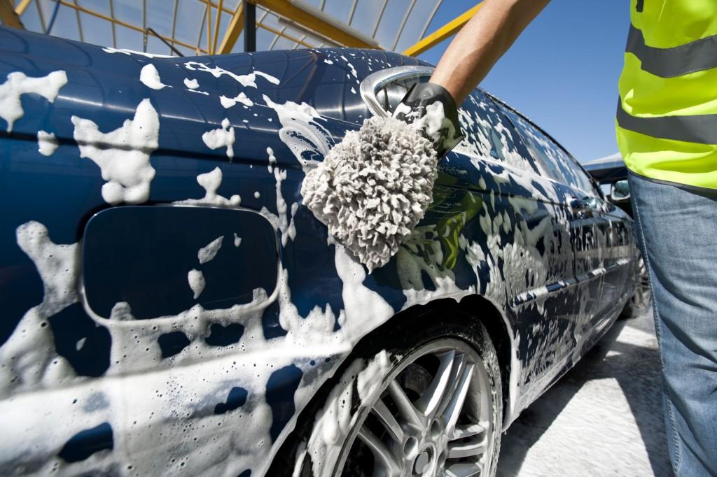 Car wash rain